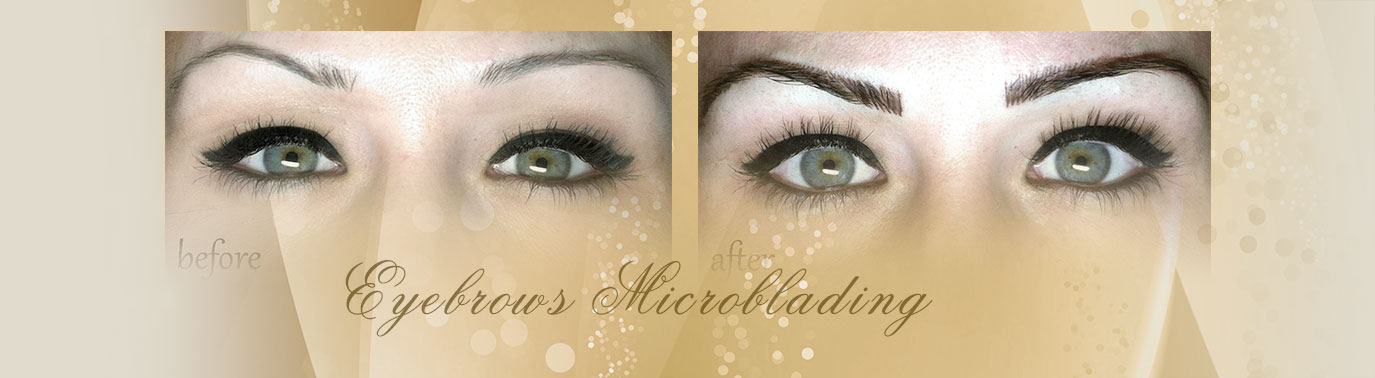 Eyebrows Microblading – Permanent Makeup - Beauty Hair Salon and Spa