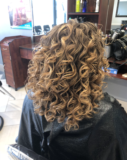 Freestyle Waves wave hairdo at Teddy Rose Salon in Skokie