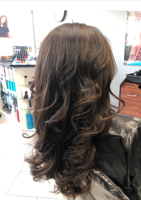 Finesse hairdo at Teddy Rose Salon in Skokie