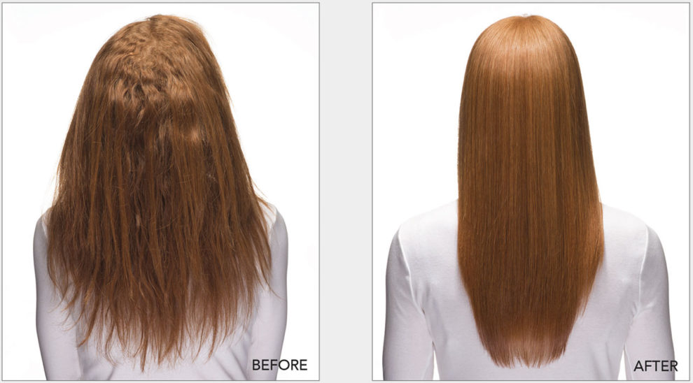 Keratin-Complex-express-blow-out-before-after