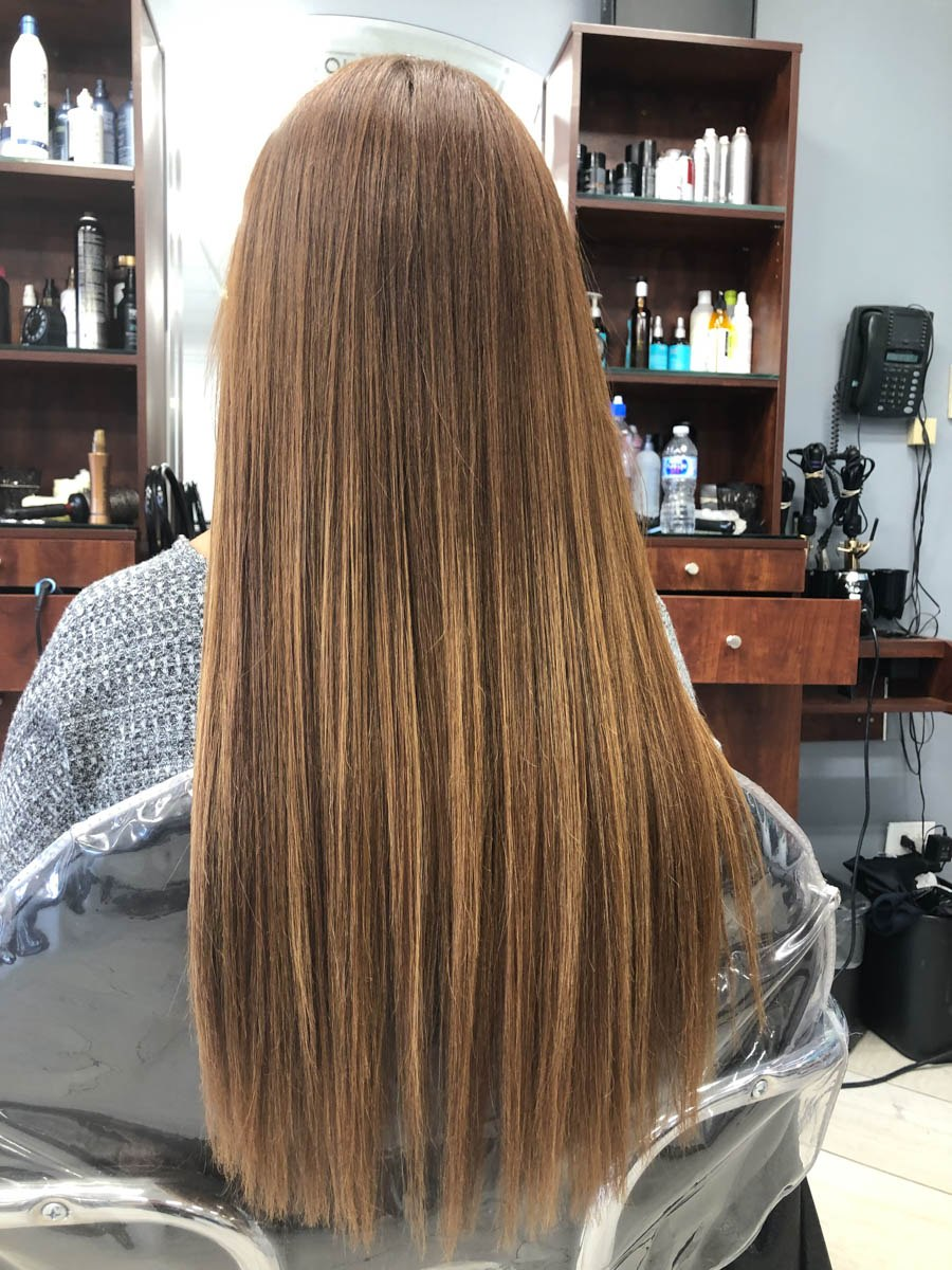 Keratin Hair Treatment Teddy Rose Hair Salon Day Spa Hair Style And Color Color Correction Keratin And Olaplex Hair Treatment Hair Extensions Manicure Pedicure Wax Makeup Skokie 60076 60714 60025