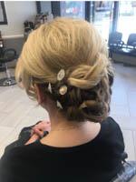 Back view Date Night Hair from Teddy Rose Salon in Skokie