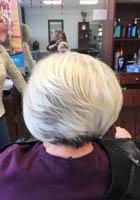 Great cut for thin hair at Teddy Rose Salon in Skokie